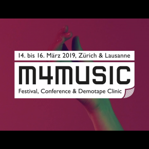M4Music Zürich x Keynote on The Art of PR and Visual Development
